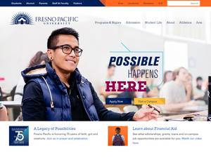 Fresno Pacific University Screenshot