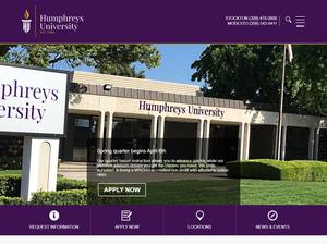 Humphreys University Screenshot