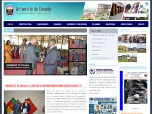 Université de Douala Screenshot