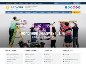 La Sierra University Screenshot
