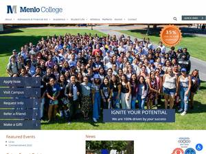 Menlo College Screenshot