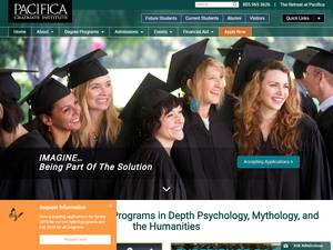Pacifica Graduate Institute Screenshot