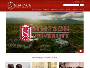 Simpson University Screenshot