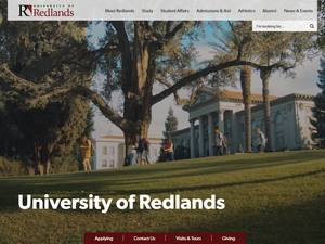 University of Redlands Screenshot