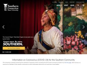 Southern Connecticut State University Screenshot