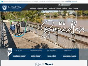 Augusta University Screenshot