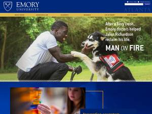 Emory University Screenshot