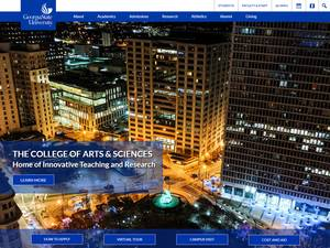 Georgia State University's Website Screenshot