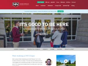 Northwest Nazarene University Screenshot