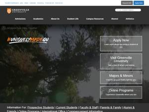 Greenville College Screenshot