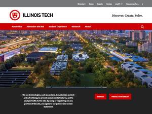 Illinois Institute of Technology's Website Screenshot