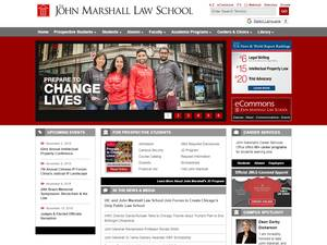 The John Marshall Law School Screenshot