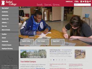 Bethel College Screenshot