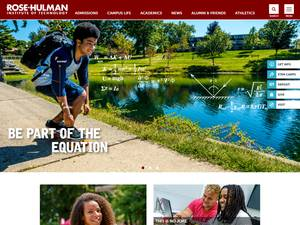 Rose-Hulman Institute of Technology Screenshot