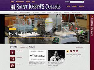 Saint Joseph's College Screenshot