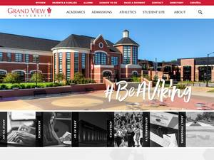 Grand View University Screenshot