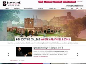 Benedictine College Screenshot