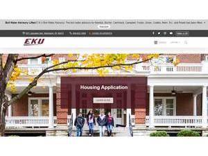 Eastern Kentucky University Screenshot