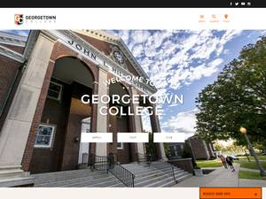 Georgetown College's Website Screenshot