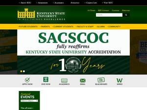 Kentucky State University Screenshot