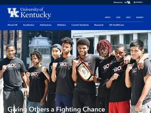 University of Kentucky Screenshot