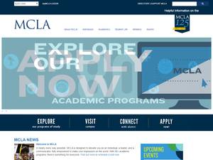 Massachusetts College of Liberal Arts's Website Screenshot