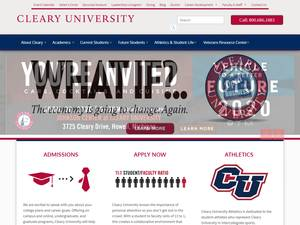 Cleary University Screenshot