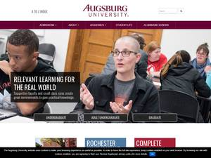 Augsburg College Screenshot