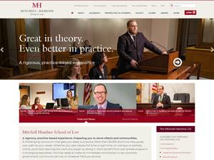 Mitchell Hamline School of Law Screenshot