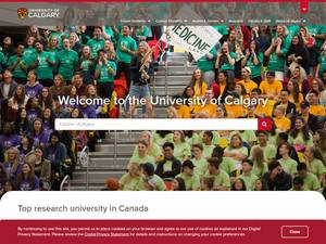 University of Calgary Screenshot
