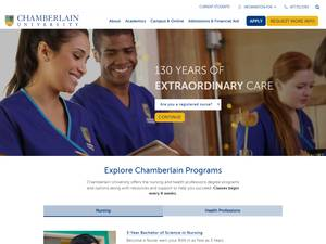 Chamberlain College of Nursing Screenshot