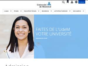 Université de Montréal Screenshot