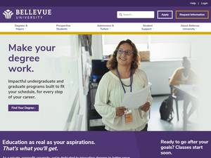 Bellevue University Screenshot