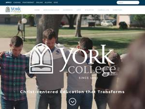 York College's Website Screenshot