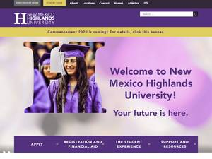 New Mexico Highlands University Screenshot