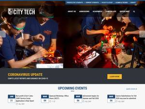 New York City College of Technology, CUNY Screenshot