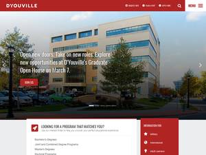 D'Youville College Screenshot
