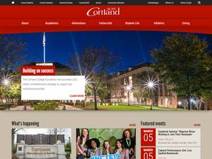 SUNY Cortland Screenshot
