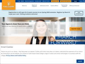 SUNY Empire State College's Website Screenshot