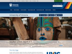 University of Victoria Screenshot