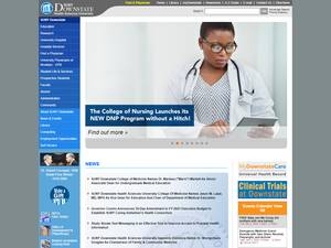 SUNY Downstate Medical Center's Website Screenshot