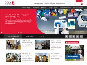 York University Screenshot