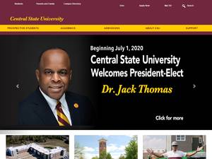Central State University Screenshot