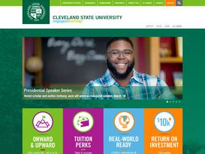 Cleveland State University Screenshot