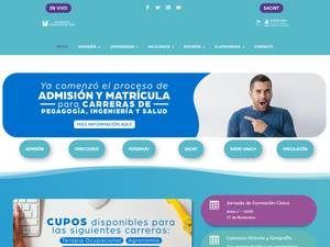 Chilean Adventist University Screenshot