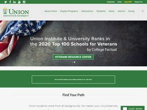 Union Institute & University Screenshot