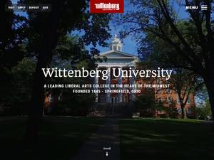Wittenberg University Screenshot