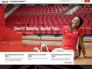 California University of Pennsylvania's Website Screenshot