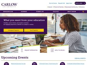 Carlow University Screenshot