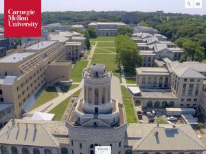 Carnegie Mellon University Screenshot